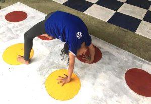 crianca brincando desafio nasp sao sebastiao df